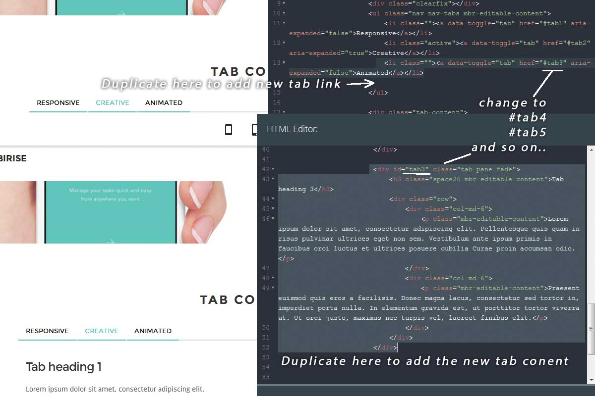 Simple Bootstrap Minimal Theme