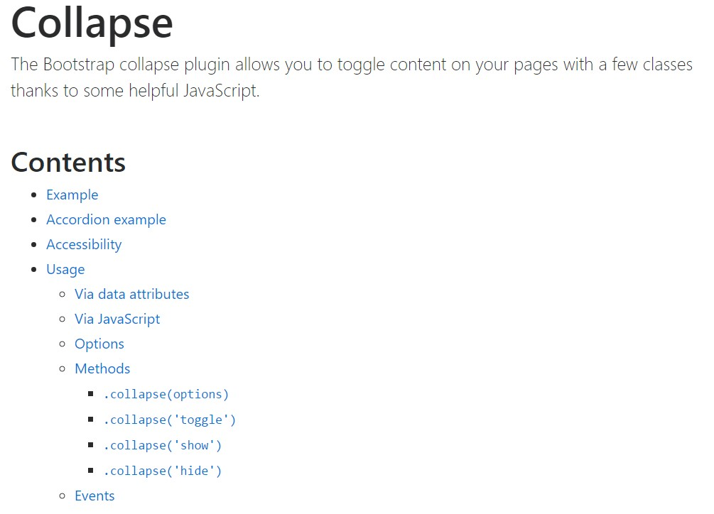 Bootstrap collapse  formal  information