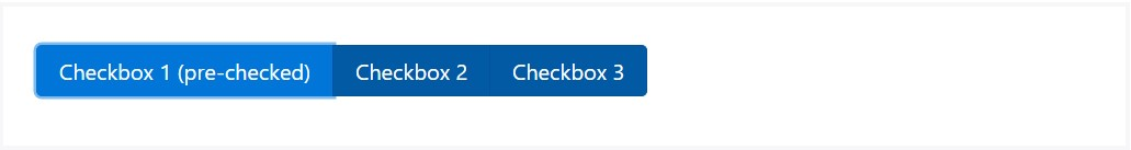 The way to use the Bootstrap checkbox