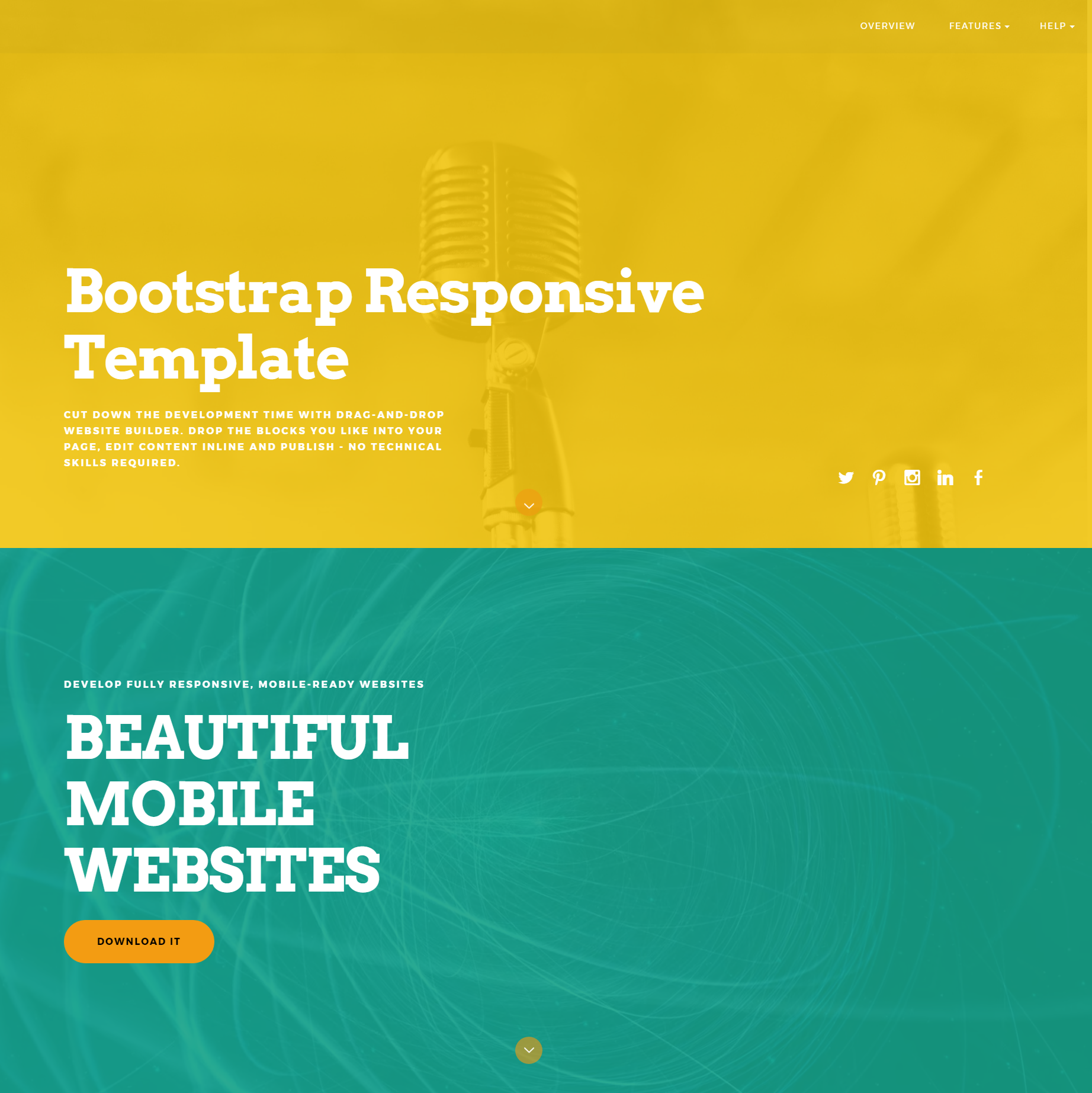 Free Bootstrap ColorM Templates