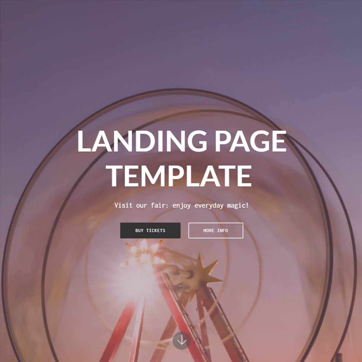 CSS3 Bootstrap Landing Themes