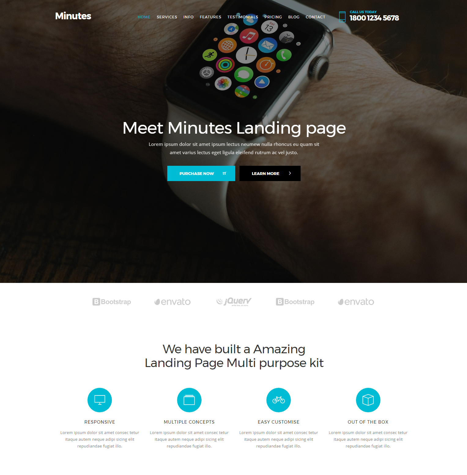 HTML Bootstrap Minutes Templates