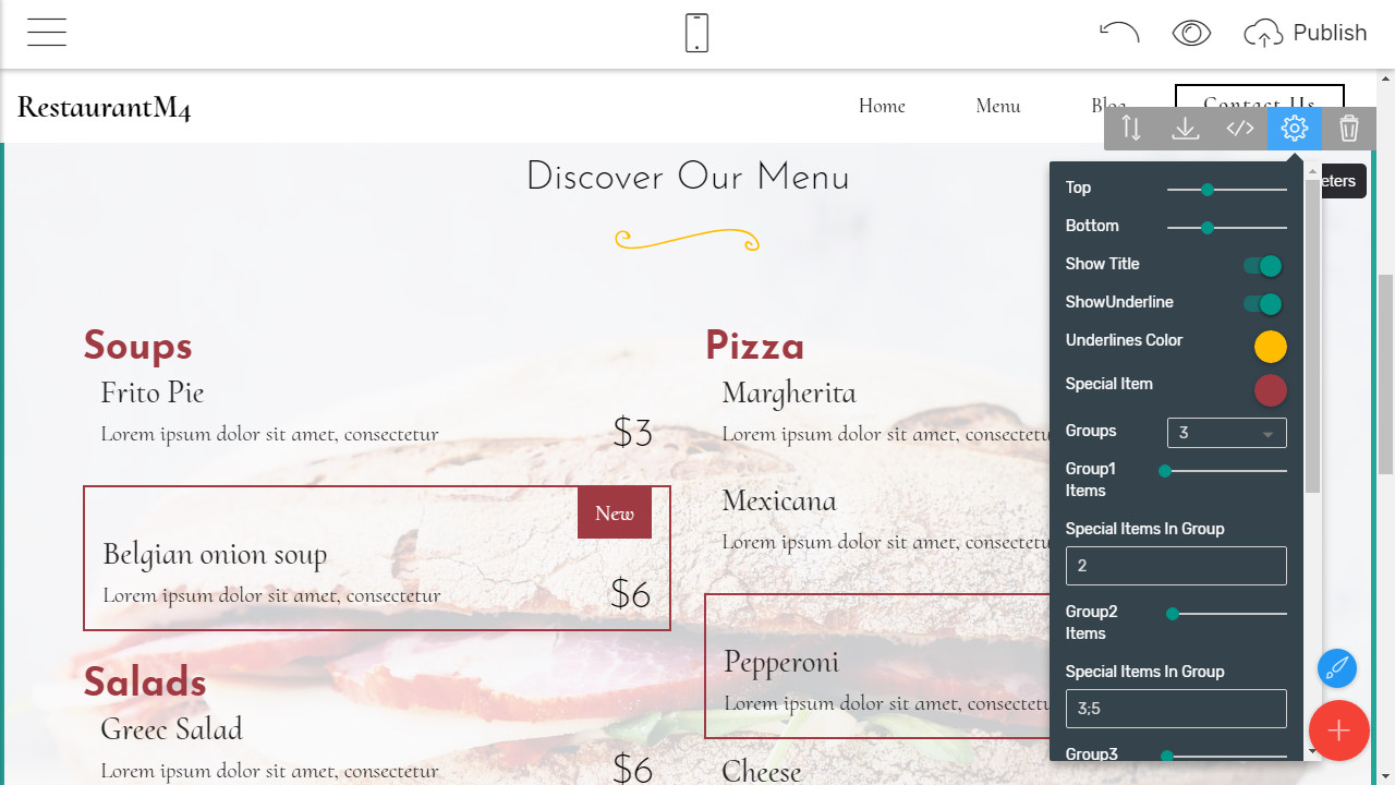 HTML5 Site Template